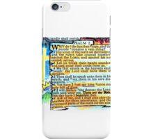 PSALM 2 - THOU ART MY SON iPhone Case/Skin
