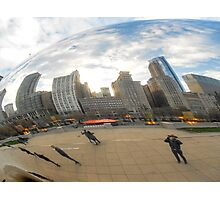 """Cloud Gate, or as we know it...""""The Bean"""" Photographic Print"""