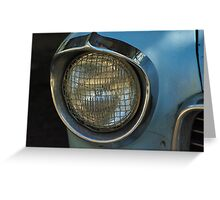 blue holden Greeting Card