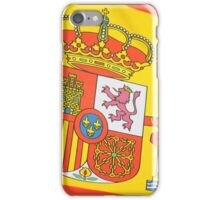 Spanish flag iPhone Case/Skin