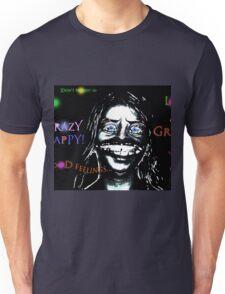 Crazy Happy Unisex T-Shirt