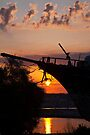 Kefalonian Sunset 4 by Paul Thompson Photography