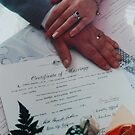 Hands, Rings & Certificate by Graham Mewburn