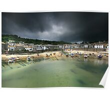 Cornwall : Storm in a Mousehole Poster
