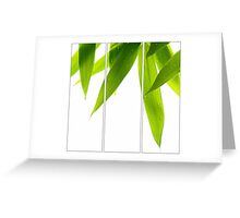 Life Is Green Greeting Card