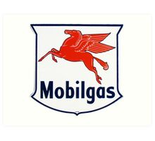 Mobilgas Art Print