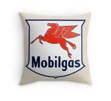 Mobilgas Throw Pillow