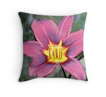 The original Day Lilly Throw Pillow