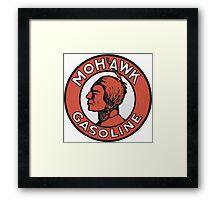 Mohawk Gasoline Framed Print