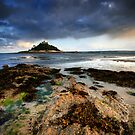 Cornwall : St Micheal's Mount by Angie Latham