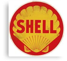 Shell retro Canvas Print