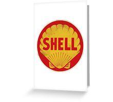 Shell retro Greeting Card