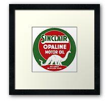 Sinclair Opaline Framed Print