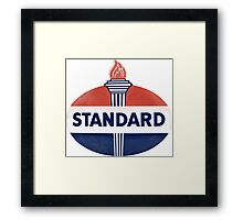 Standard Oil Framed Print