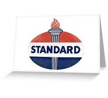Standard Oil Greeting Card