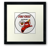 Texaco Fire Chief Framed Print