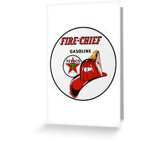 Texaco Fire Chief Greeting Card