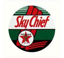 Texaco Sky Chief Art Print