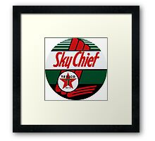 Texaco Sky Chief Framed Print