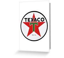 Texaco retro Greeting Card