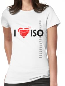 I heart ISO Womens Fitted T-Shirt