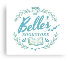 Belle's Bookstore // Beauty and the Beast Canvas Print