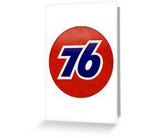 Union 76 Greeting Card