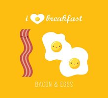Bacon and Eggs by gabdoesdesign