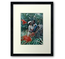 Bush Shot Framed Print