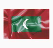 Maldives Flag One Piece - Short Sleeve