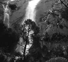 Meander Falls after rain by Christine Beswick