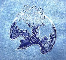 Blue Bird by Denise Martin