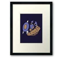 Rapid Spin to Win - Hitmontop (Style 2) Framed Print