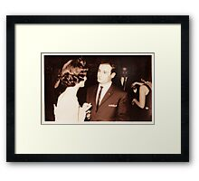 would you like to dance? Framed Print