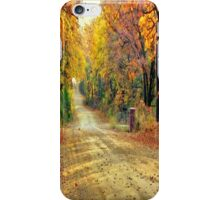 Color Book Road  iPhone Case/Skin