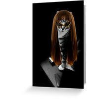 Groovy Kitz Greeting Card