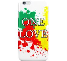 One Love iPhone Case/Skin