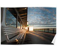 WA state ferry Poster