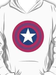 Bi Captain America shield T-Shirt