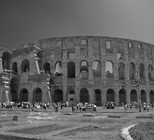 The Flavian Amphitheatre by John Nelson