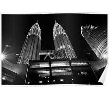 Petronas In Monochrome Poster
