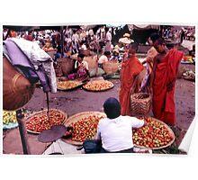 Burma market Poster
