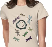 Dragonflies in the Looking Glass Womens Fitted T-Shirt
