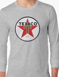 Texaco retro Long Sleeve T-Shirt