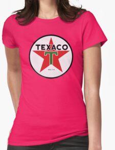 Texaco retro Womens Fitted T-Shirt