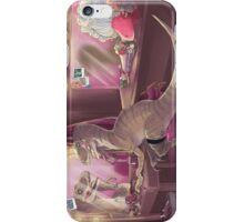 She Stared at Herself in Raptor iPhone Case/Skin