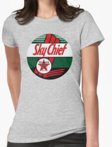Texaco Sky Chief Womens Fitted T-Shirt