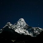 Ama Dablam and the Pleiades by Richard Heath
