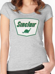 Sinclair Dino Women's Fitted Scoop T-Shirt