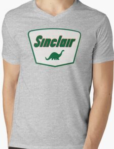 Sinclair Dino Mens V-Neck T-Shirt
